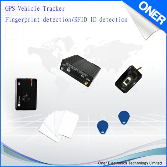 GPS Vehicle Tracker with Driver Identification, RFID and Fingerprint
