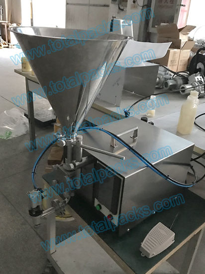 Semi-Automatic Gear Pump Cream/ Paste Filling Machine (GPF-160S) pictures & photos