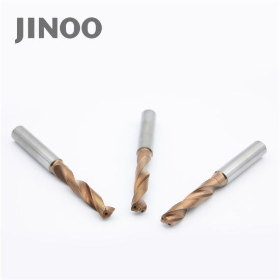 High Speed Solid Tungsten Carbide 2 Flute Wood Drill Bits pictures & photos