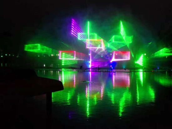 Indoor and Outdoor Full-Color Laser Lights Stage Equipment