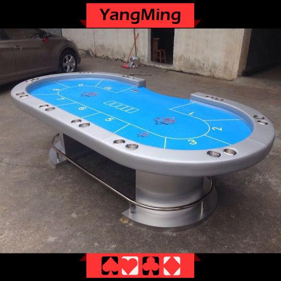 Fabulous China Silver Led Texas Casino Table Ym Tb016 China Beutiful Home Inspiration Xortanetmahrainfo