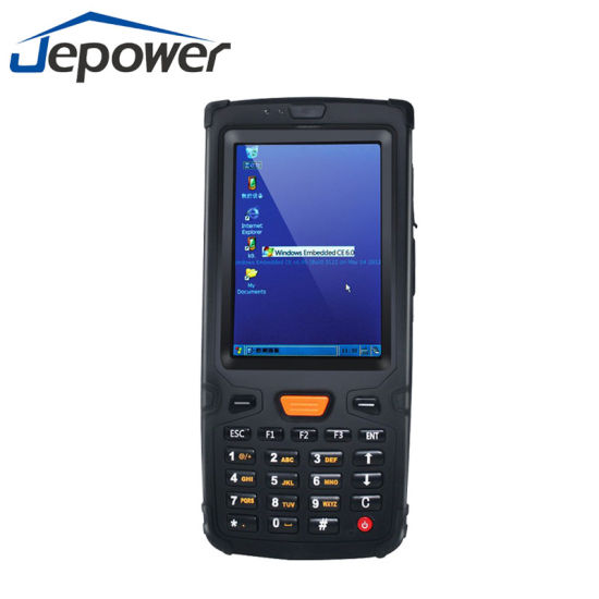 Ht380W Handheld Terminal Barcode Scanner NFC RFID WiFi 3G GPS Bluetooth Win Ce Window Rugged PDA pictures & photos