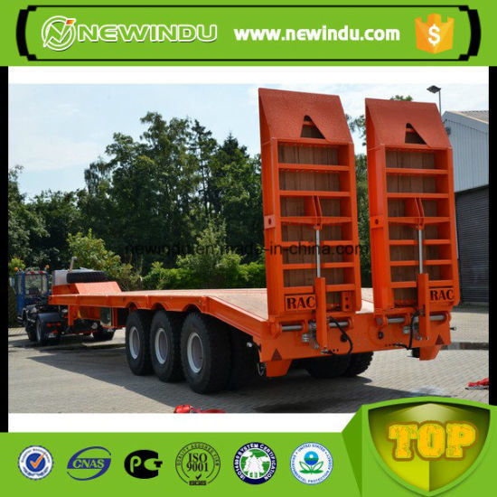 Brand New 3 Axle 70 Ton Flat Bed Semi Trailer pictures & photos