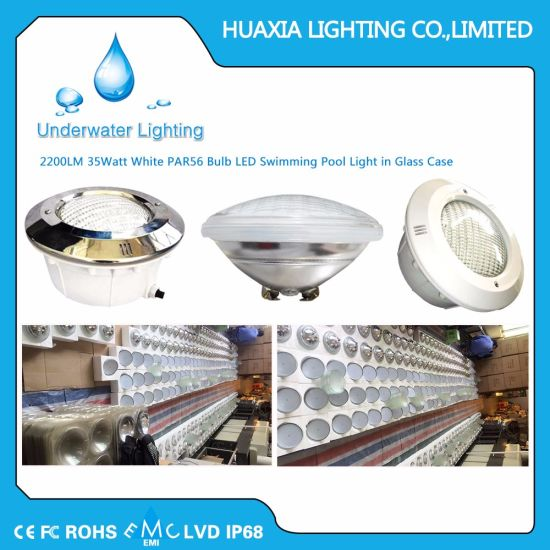 China 35w Par56 Underwater Lamp Led Swimming Pool Light With Dmx External Control Remote Control