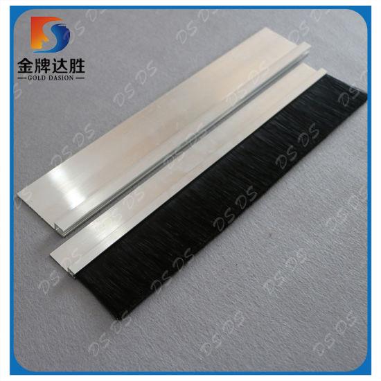 China Aluminum Holder Garage Door Weather Seal Brush Strip China