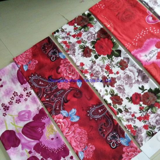 Wholesale Fabric with Colorful Flower Printing From Chinese Suppliers