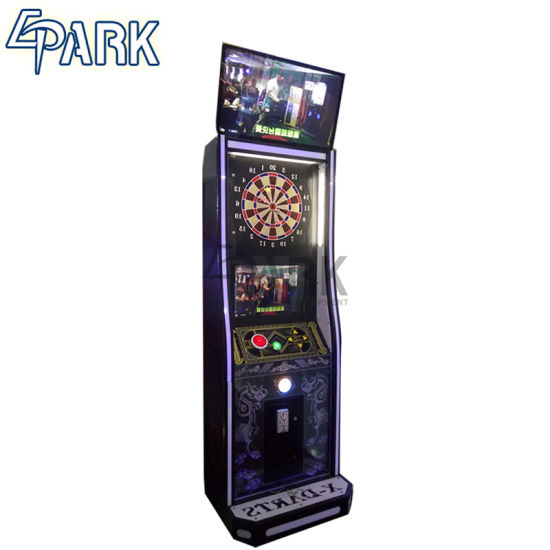 Luxury Electronic Dart Board Cabinet Arcade Machine