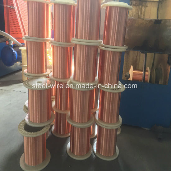 China Wholesale 0.015mm Tin Coated Enameled Copper Wire Coil