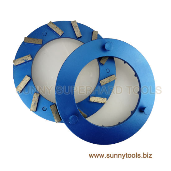 China Concrete Floor Diamond Grinding Disc for Klindex - China