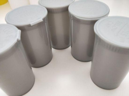 Medical Plastic Snap Cap Pill Bottles Plastic Pop up Lid Vials