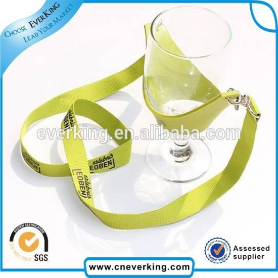 Personalized Double Swivel Hook Wine Glass Holder Lanyards pictures & photos