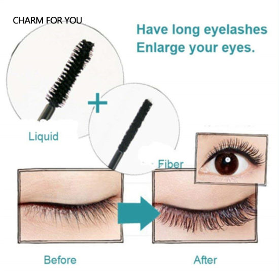 Brand Eye Create Silk Lashes Ddk Magic Fiber China Own 4d Your nw8OvmN0