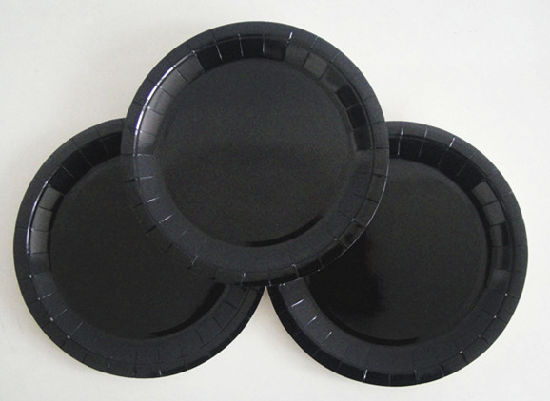 Wholesale Cheap Black Color Paper Plates for Party & China Wholesale Cheap Black Color Paper Plates for Party - China ...