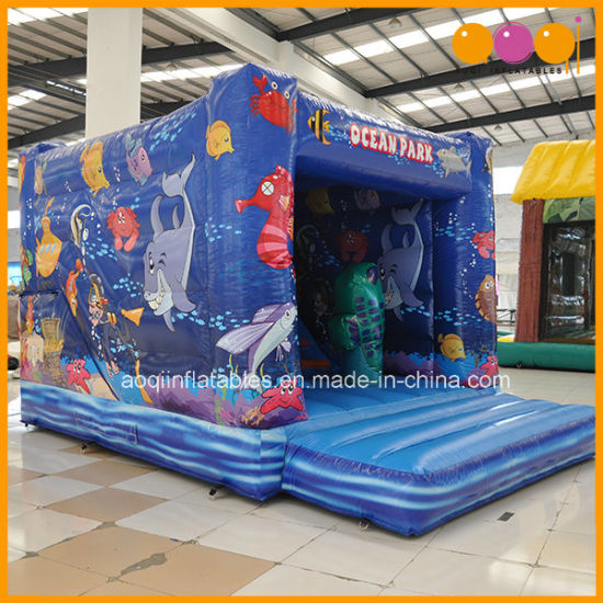 Child Toy Ocean Park Inflatable Bouncer with En14960 Certification (AQ02352) pictures & photos