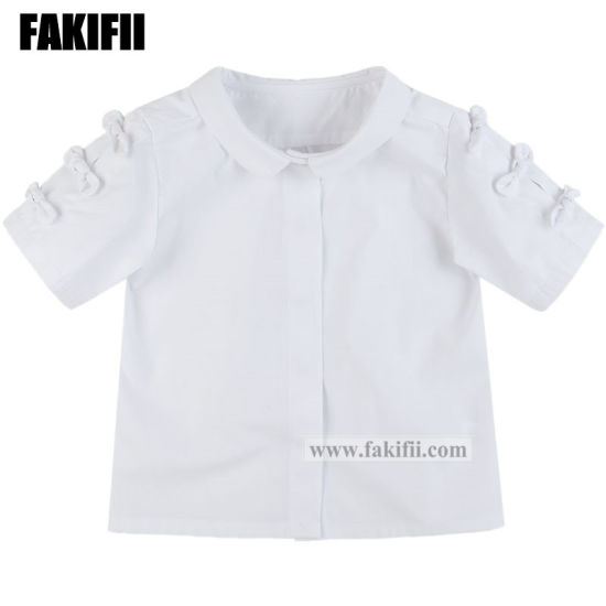 fa9fcc5fd7c China New Design Boutique Kids Baby Wear Girl Cotton Check Top