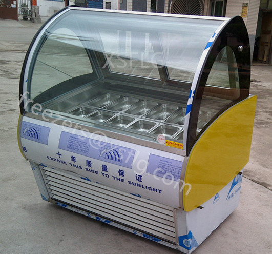 Italian Gelato Ice Cream Display Freezers for Sale pictures & photos