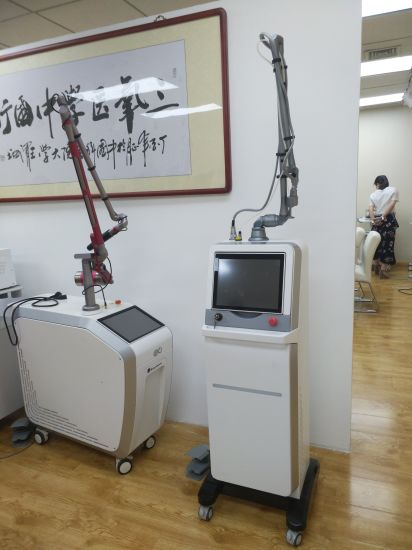 10600nm Fractional CO2 Laser Machine for Skin Resurfacing Stretch Marks Acne Removal Machine pictures & photos