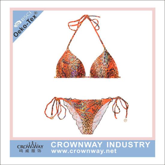 c435dbce381a Plus Size Girls Sublimation Print Brazilian Thong Bikini for Sale pictures  & photos