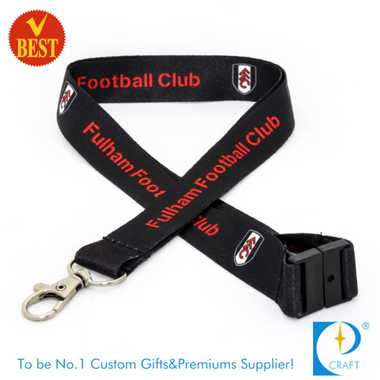 Custom Hot Sale Printed Polyester Woven Nylon Tubular Card Holder Keychain Dye Sublimation Heat Transfer Printing Neck Strap Lanyard Webbing Ribbon pictures & photos