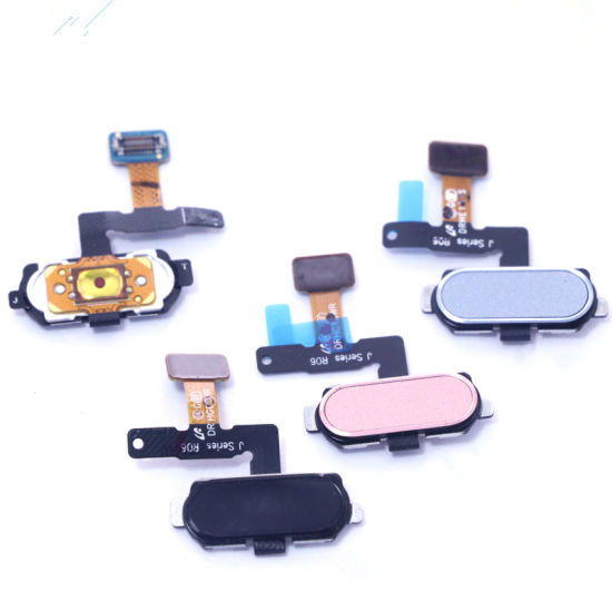 (Wholesale All models) Home Button Flex for Samsung J7 PRO 2017/J730/J7 Max  Black/White/Pink