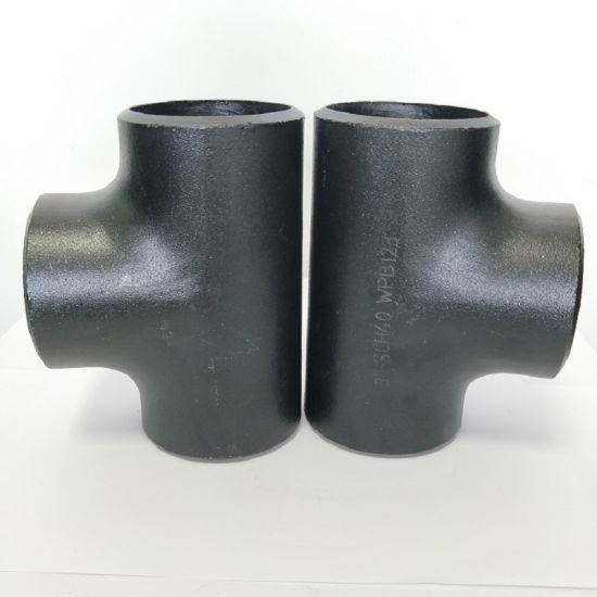 Carbon Steel/Stainless Steel Butt Weld Seamless Pipe Fitting Equal/Reducing Tee pictures & photos