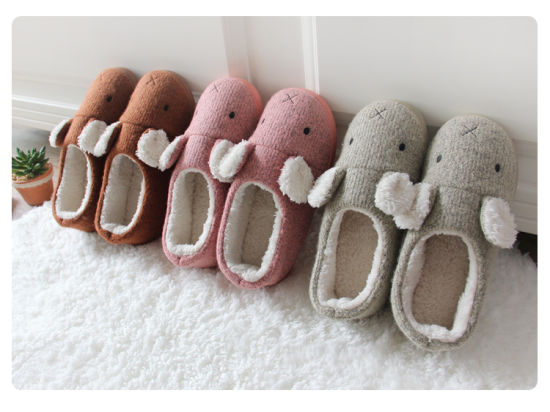 a4b20d11689 Home Slipper Machine Wash Women Shoes Men Indoor Soft Cozy Cotton Slippers  Dr-3