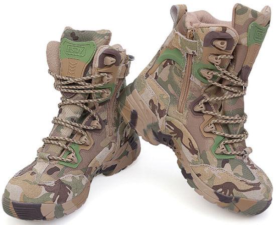 Cp Camo High Us Army Commando Tactical Combat Assault Boots