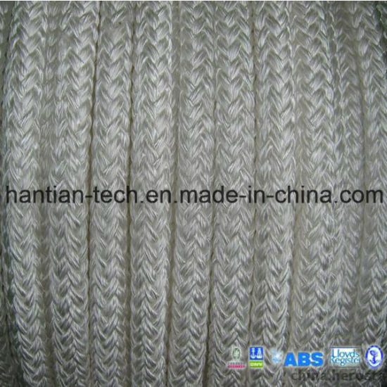 Polyamide Multifilament Diameter 4-120mm Marine Equipment Double Braided Rope for Offshore Oil Drilling
