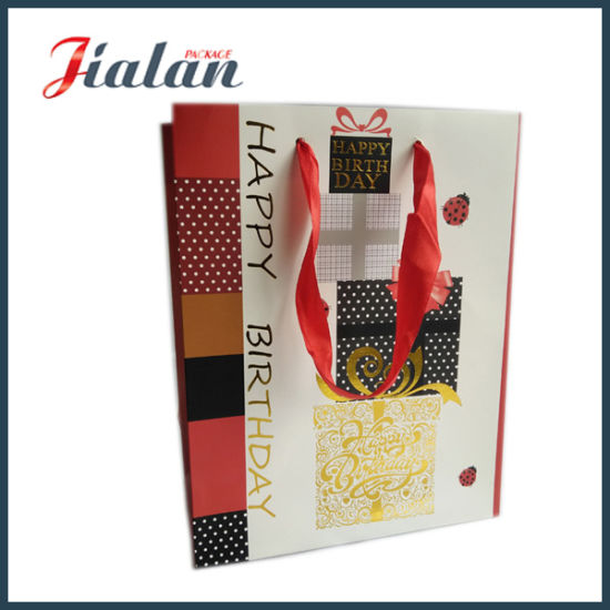 Different Size Cheap Custom Design Gift Packing Promotion Paper Bag pictures & photos