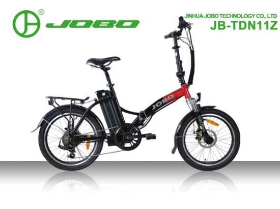 China Wholesale OEM 20 Inch Folding Electric Bike Full Suspension Jb-Tdn11z