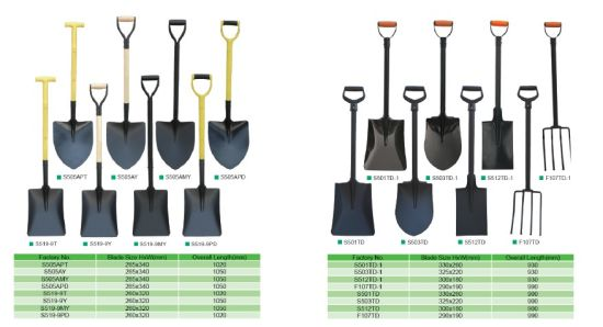 Fiberglass Handle Shovel Spade Fork Garden Tools pictures & photos