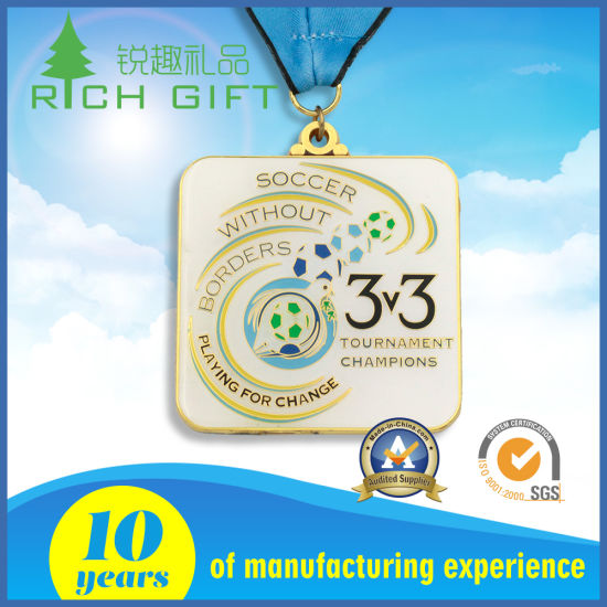 Factory Die Casting Fine Gold Award Metal Sports Medal pictures & photos