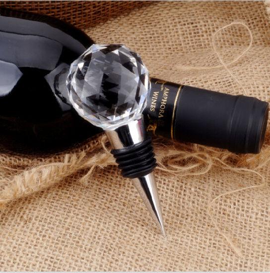 Home Decorative Crystal Wine Bottle Stoppers (KS20028)