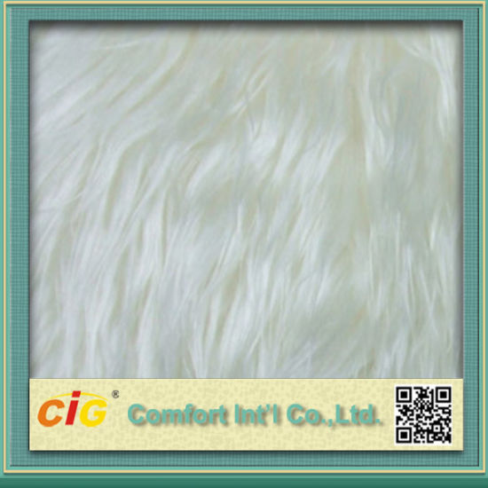 High Quality Colorful Suede Bonded Faux Fur Fabrics