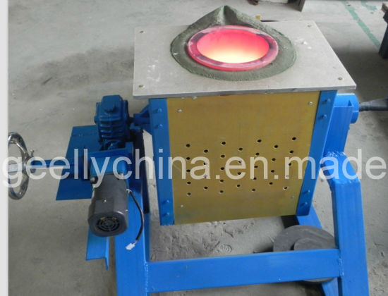 Induction Melting Furnace for Melting 3-200kgs Copper, Brass, Silver, Gold, Aluminium, Steel, Stainless Steel etc pictures & photos