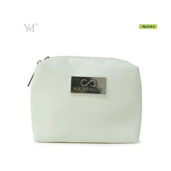 Wholesale Factory Professional Handmade Lady Leather Makeup Bag