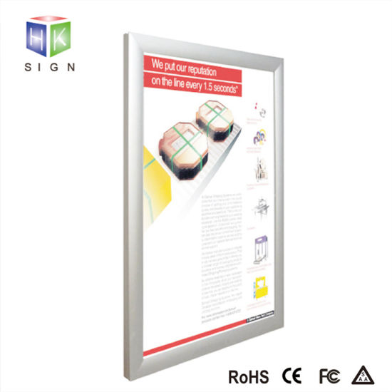 Aluminum Magnetic Snap Frame LED Light Box pictures & photos