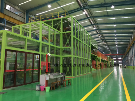 Prefab Steel Structure Steel Frame for Dust-Free Plant Workshop pictures & photos