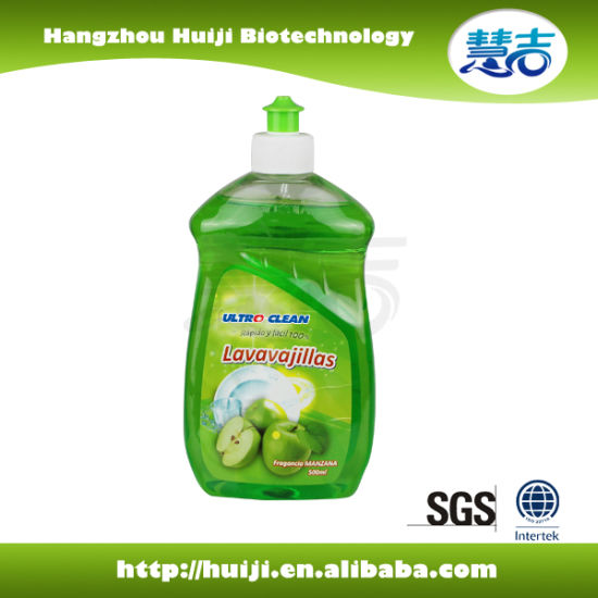500ml Green Apple Dishwashing Liquid pictures & photos