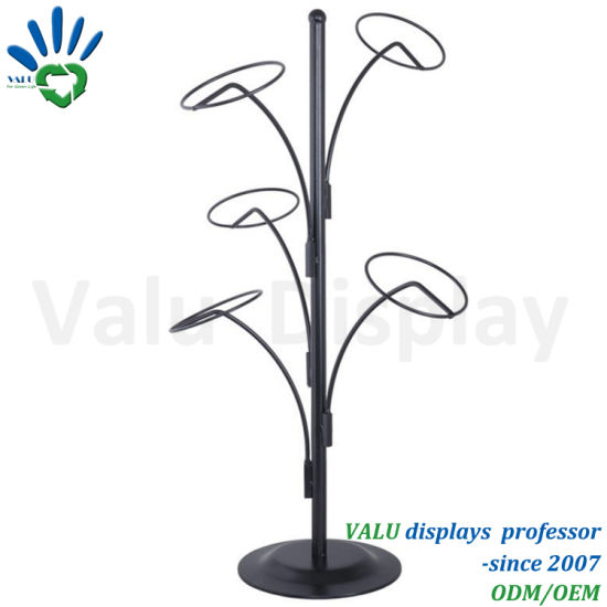 Metal Retail Desktop Hot-Sale Cap Display Rack with Factory Direct Sale Price pictures & photos