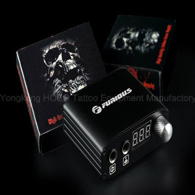 Mini Digital Tattoo Machine Power Supply with Clip Cord pictures & photos