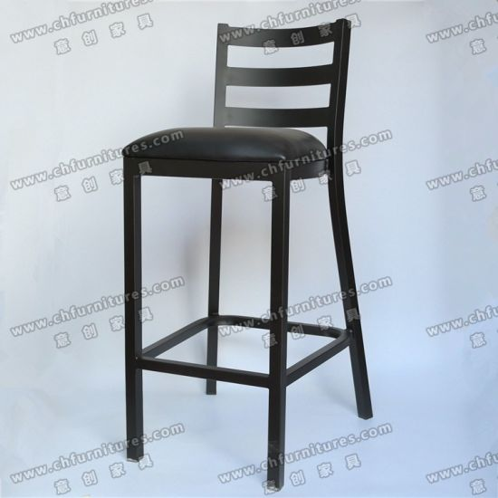 Terrific China Black Vinyl Pu Leather Dining High Bar Stools Coffee Creativecarmelina Interior Chair Design Creativecarmelinacom