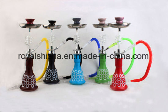 Amy Glass New Design Hookah Shisha Smoking Pipe Medium Portable Electric Hookah pictures & photos