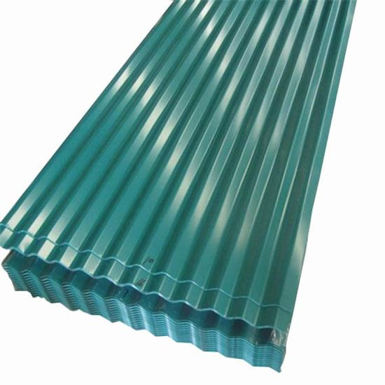 Roofing Material Color Coated Corrugated Steel Metal Roof Sheet Price