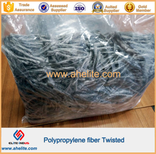 High Strength Concrete Additives PP Twist Fiber pictures & photos