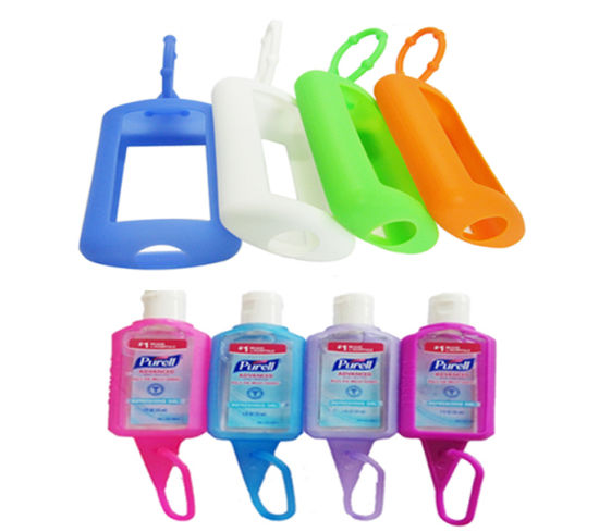 30 Ml Portable and Fashionable Silicone Hand Sanitizer Bottle Holder