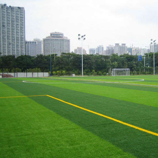 50mm Height 10500 Density Fad-S Soccer Pitch Artificial Grass/Synthetic Grass Turf for Football Field