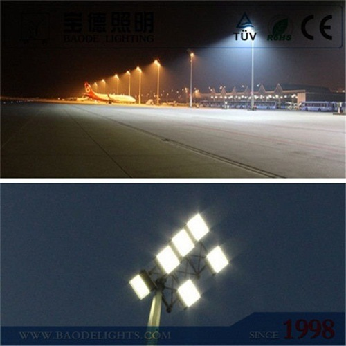Professional 20m 1000W High Pressure Sodium High Mast Lighting for Football Pitch pictures & photos