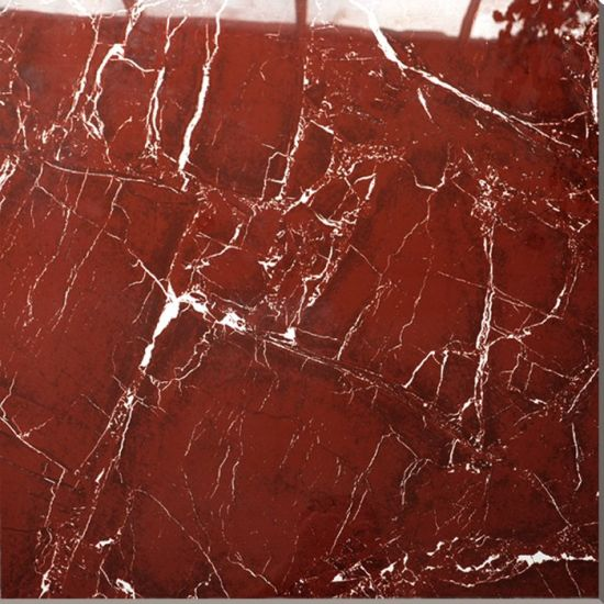 Quality 24x24 Inch Ghana Italy Cheapest Polished Red Marble Tile