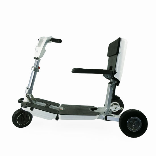Ce Approved 250W 3 Wheels Electric Folding Luggage Scooter